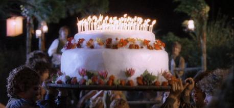 mine (hobbit cake,LOTR:FOTR)