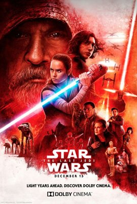 my Избранное movie from 2017...The Last Jedi