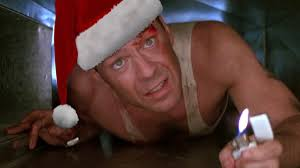 On winter time, as strange as it might sound, I like to watch the DIE HARD movies.