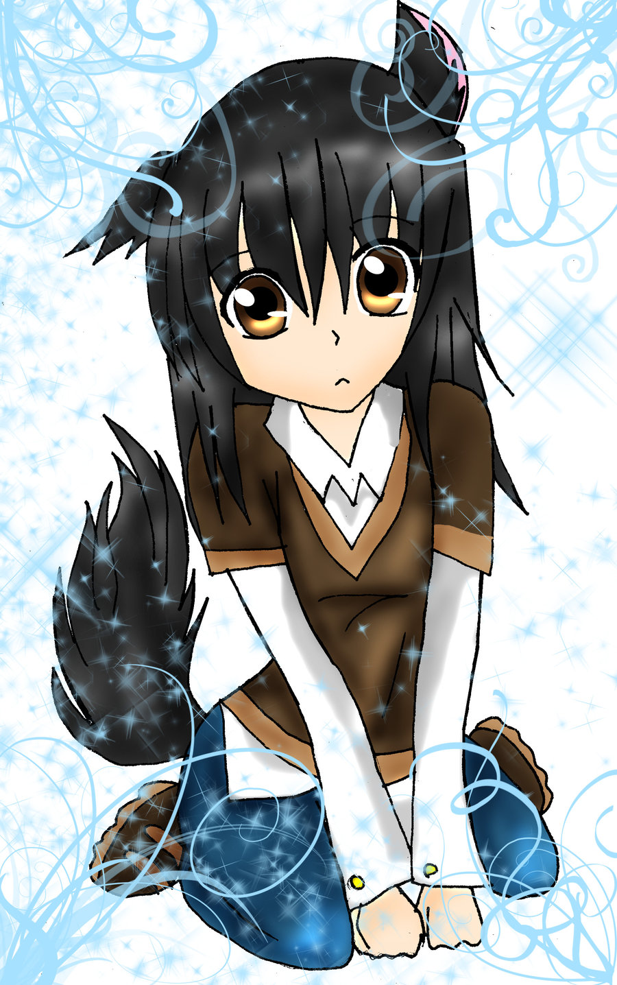 Death note oc creator death note fanpop - Wolf girl anime pictures ...