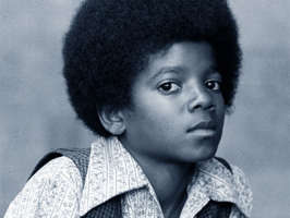 I like this picture of Michael from the Jackson 5 era