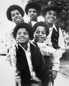 Michael as a member of the Jackson 5