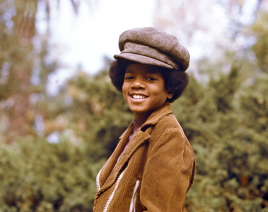 Michael as a young boy