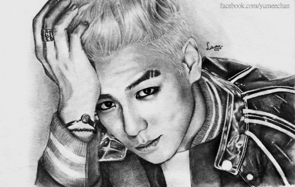 Top Bigbang Drawings Web Drawing of Top.:}♥♥