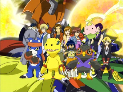 Day 2: Least Favorite season: Digimon Savers.