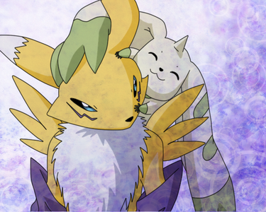 Day 7: What digimon would you have as your digimon partner: Renamon