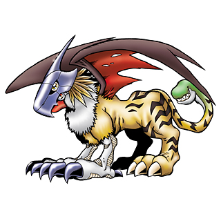 Day 16 A digimon that you would like to see more of: Griffomon