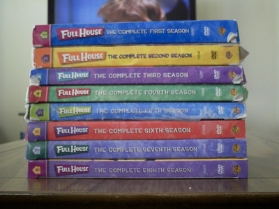 At least there's good news: Full House is on DVD. :)