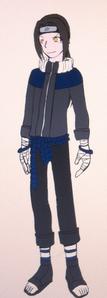 Name: Kinta Fuke Gender: male Age: 16 Race: ninja Village: hidden leaf Personality: he's kind,