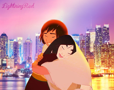 Kenai and mulan find each other in New York <3