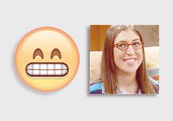 1. Amy Farrah Fowler 2. Howard Wolowitz 3. Penny 4. Leonard Hofstadter 5. Bernadette 6. Sheldon
