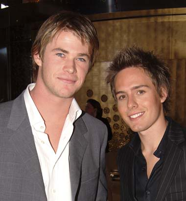 Channing!!!!! Chris Hemsworth (L) vs Jason Smith (R)