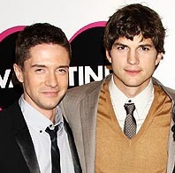 I don't know their names, but I say the guy third from the left Topher Grace (L) vs. Ashton Kutcher