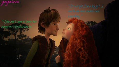 RND4: Aladdin/Meg Aladdin: u don't seem to know how dangerous Agrabah can be. Meg: It's alright