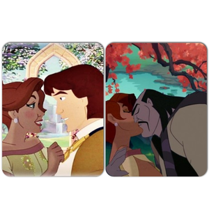 Tarzan and Poca Anastasia and Prince Derek of Anastasia and Shan Yu?