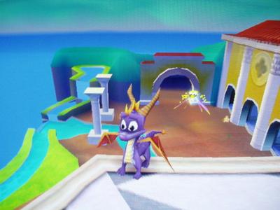 Spyro the Dragon. :3