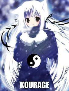 koura:hello abagail, im kourage koura for short and this is rai..*she smiles at silver*and nice to me