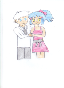 """Remember I told I was drawing them""Yugi a dit ""And it scanned, take a look"""