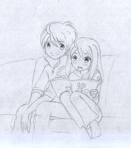 "(Yeah XP) ""Uh, of course!"" Alexi replies. (My scanner works! XP Alexa and Erik X3)"