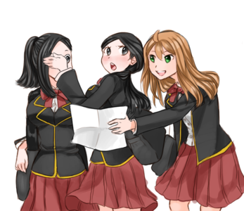 """(Oh that makes sense XP) """"Don't ask what those were!"""" April said once Alexa opened her mouth. """"Oh,"""