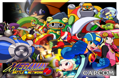siku 1 inayopendelewa Megaman Series: Battle Network Battle network is my faveorite series because it's aw