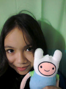 look guys! this is me and my finn stufftoy!