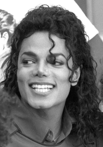 Big, beautiful MJ smile! =D