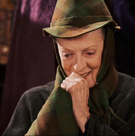 Here! Our beloved McGonagall!
