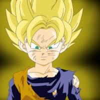 SSJ Goten being Awesome.