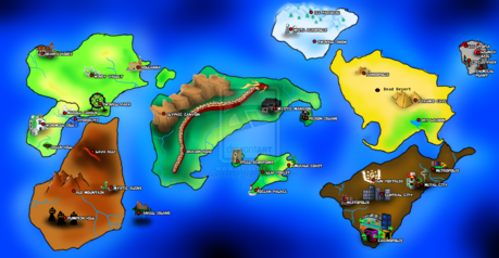 Sonic: about a day. I have a map. ( shows map )