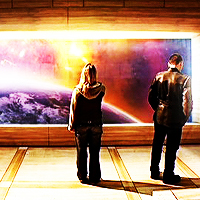 4. Earth - Rose/The Doctor (Doctor Who)