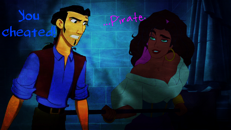 Will Turner/Tulio: You cheated!