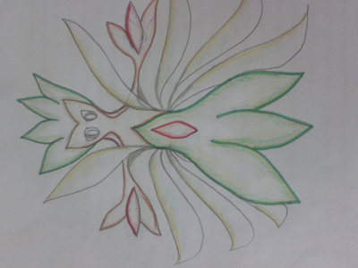 i was just trying out new pokemons.......and i came up with this ঘাস type,it could also be wind/gra
