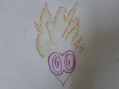 kay......here is আগুন /psychic one.....................it is a very simple design..................