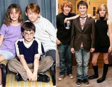 The golden trio<3