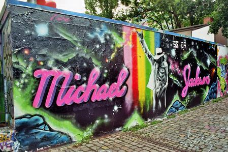 A Michael Jackson Graffiti