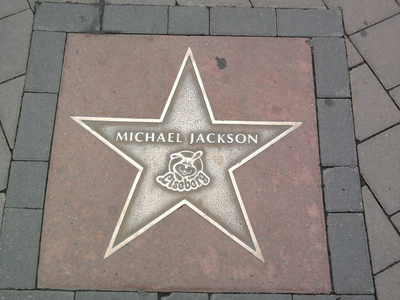 He also has a star on their walk of fame.