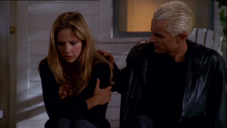 giorno 14: Least preferito Couple with a Vampire ...Buffy and Spike (I liked her with Angel better)