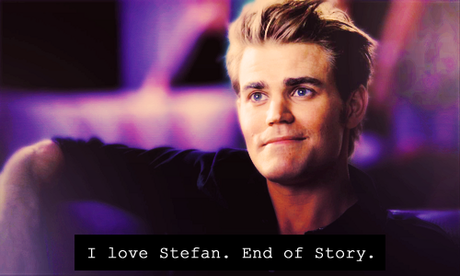 giorno 15: Vampire would te give back humanity (if te could) [b]Stefan Salvatore [/b]