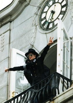 I'm Norwegian. This is a pic of Michael during one of his visits here in Oslo. When I walk past th
