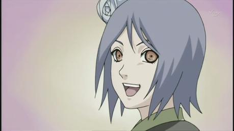 Konan, from Naruto Shippuden.