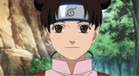 Tenten (or Ten Ten, یا Ten-ten, I've never known...), from Naruto.