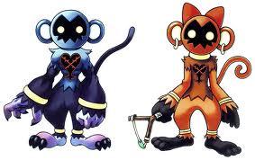 Digimon's Appearance: Powermon (Left) Wildmon (right)