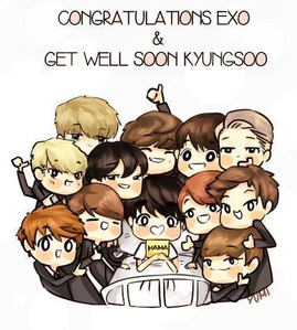 Is chibi ver acceptable? I really love this pic~~ ^^ Anw #GetWellSoonKyungsoo