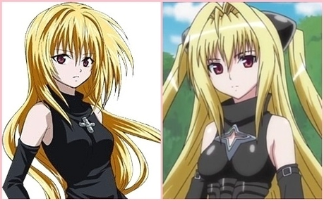 Eve from Black Cat and Yami from To Love Ru