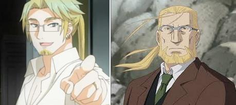 Ooh also Oscar in Pandora Hearts and وین Hohenheim from FMA looks similar as well!