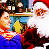 navidad time with Chandler and Joey