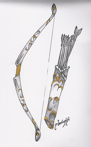 (Image of Akari in weapon form.)