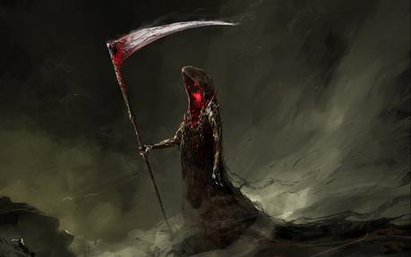 Name: Death Scytheweaver Age: Immortal Gender: Male Job: [b]Death[/b] Aura Color: [b]