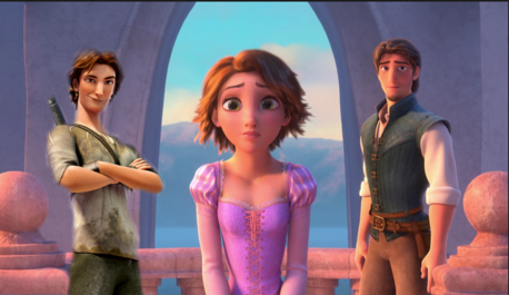 Are amor triangles allowed? The backstory: Flynn and Nod are brothers and are Rapunzel's cousins. W